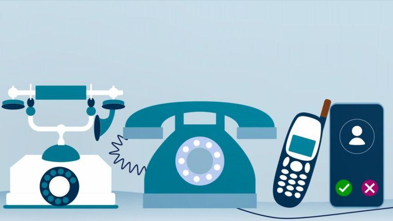 Kommunikationsgeräte zu erkennen